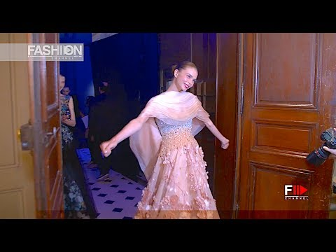 TONY WARD Backstage Fall Winter 2017 2018 Haute Couture Paris - Fashion Channel