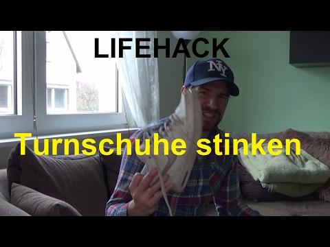 Sneakers Riechen Stinken Schuhe Turnschuhe Lifehack Hilfe Meine oexBrdCWQE
