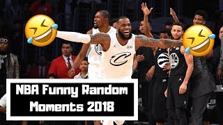 NBA Funniest Moments | 2017-18 Season | NBA Random Moments 2018