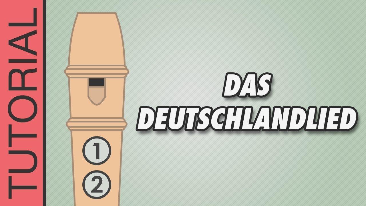 deutschland lied text