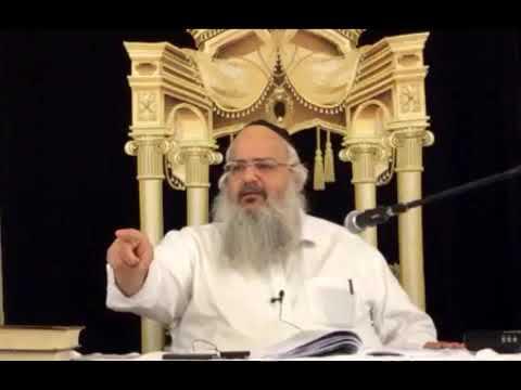 הרב שלמה לוינשטיין   פרשת צו  פורים   התשעט   2019
