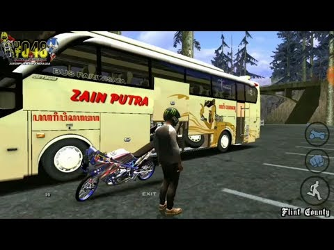 DUET SETTING NINJA KRSP 469 GTX CONCEPT feat ZAIN PUTRA SHD EP3(GTASA ANDROID MOD BUS & DRAGBIKE