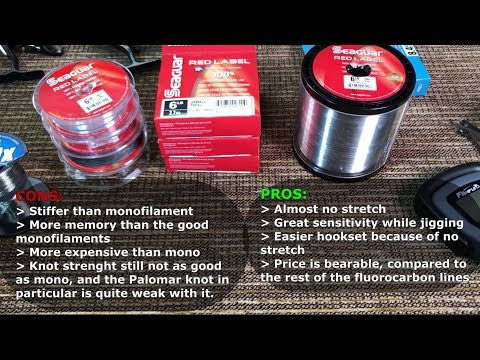 Seaguar Red Label Fluorocarbon Line: Test And Detailed Review