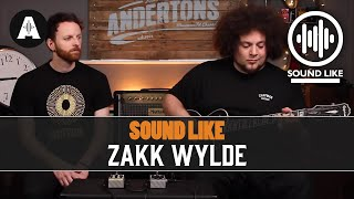 Sound Like Zakk Wylde - Without Busting The Bank