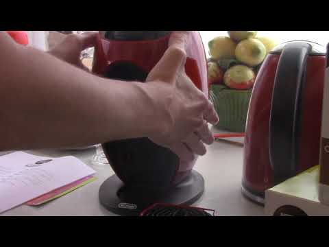 Nescafe Dolce Gusto Jovia Coffee Machine Red Review(HD)