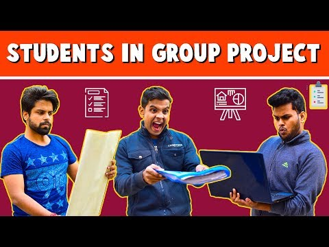 Types Of Students In GROUP PROJECT | The Half-Ticket Shows