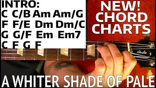 A Whiter Shade of Pale - Procol Harum - Guitar Lesson WITH TABS