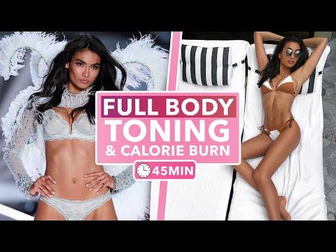 KELLY GALE full body TONING & CALORIE burn 🔥 || 45MIN