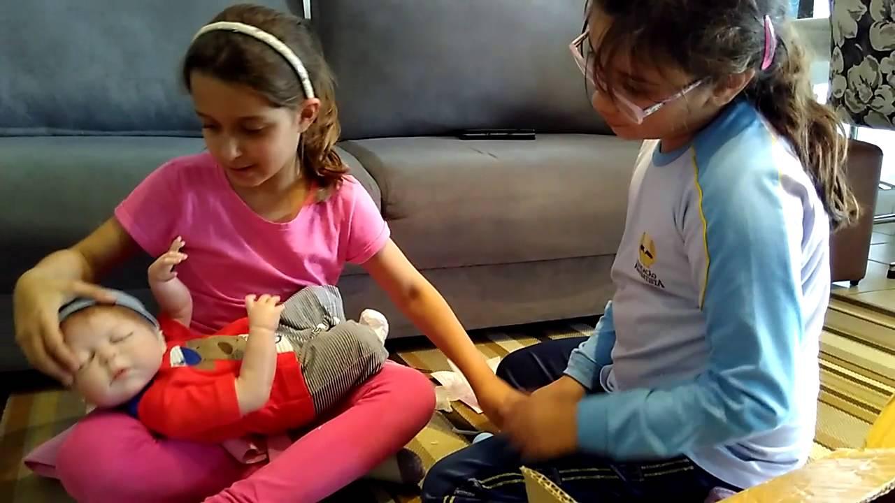 Chegada Nascimento Do Bebe Reborn Youtube