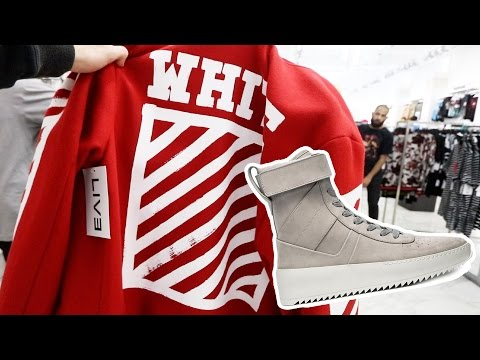 SHOPPING FOR OFF WHITE AND FEAR OF GOD IN NEW ORLEANS!