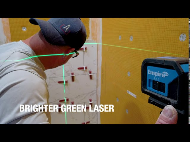 75' Green Self-Leveling Cross Line Laser