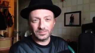 """Глеб Самойлов с поздравлениями в адрес своих друзей - группы """"Смысловые Галлюцинации""""!"""