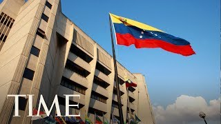 Venezuelan President Nicolas Maduro Says A Helicopter Opened Fire On The Supreme Court   TIME
