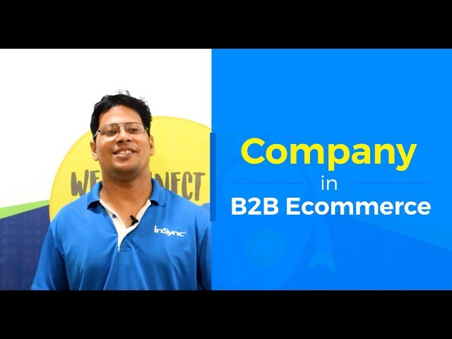 What is a Company | Create a Company in your B2B Ecommerce Store | InSync