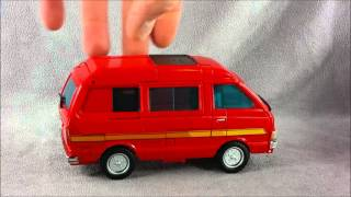Transformers Masterpiece MP-27 Ironhide Review Part 1 - Get in the VAN!