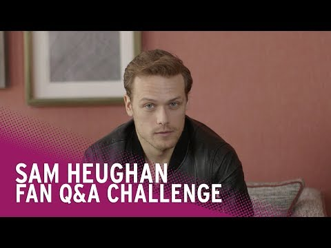 Outlander's Sam Heughan Faces QuickFire  Questions