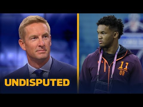 Reports on Kyler Murray bring more trade value to Josh Rosen — Joel Klatt | NFL DRAFT | UNDISPUTED