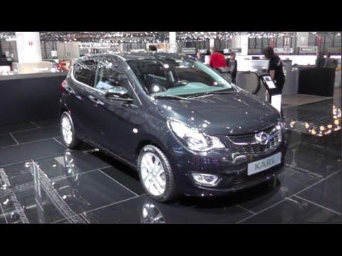 Opel Karl 2015 In detail review walkaround Interior Exterior - YouTube