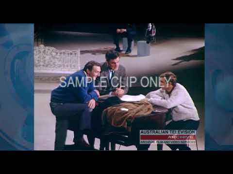 """Rare Color Footage: """"THIS IS IT"""" - Opening of ATV Channel 0 Melbourne (1964) - (silent film)"""