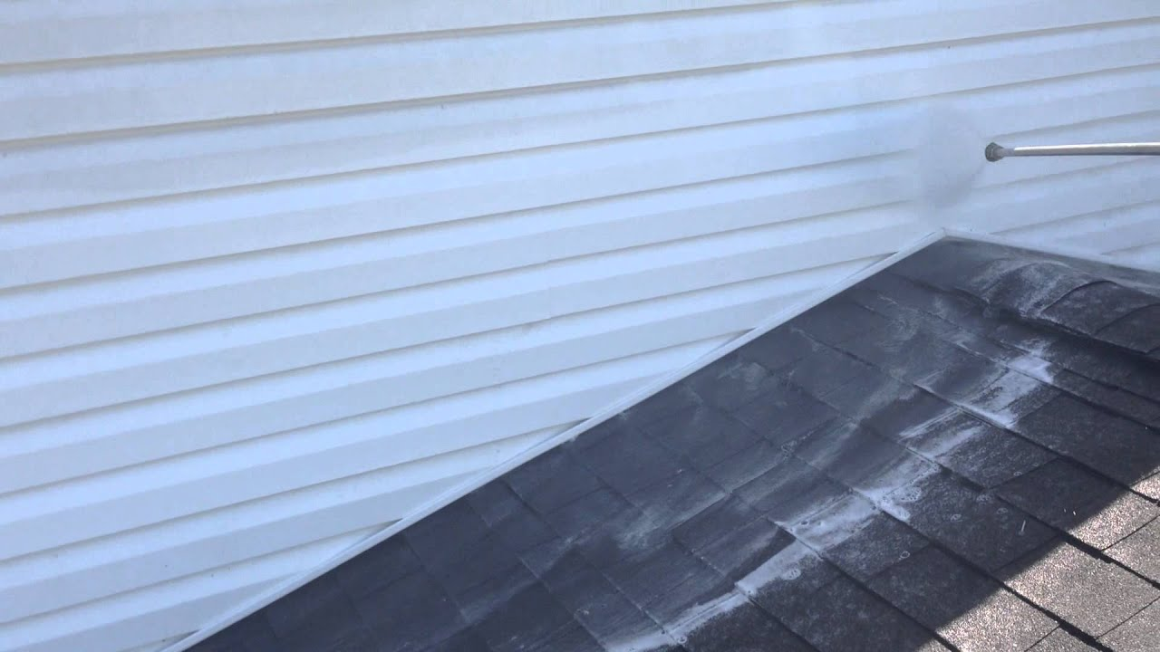 Vinyl Siding Cleaning Lake Zurich Il Youtube