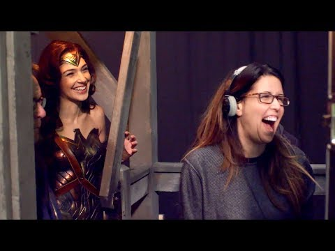 Patty Jenkins and Gal Gadot | Behind The...