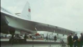 TUPOLEV TU-144 №77102 1973. Paris Air Show crash
