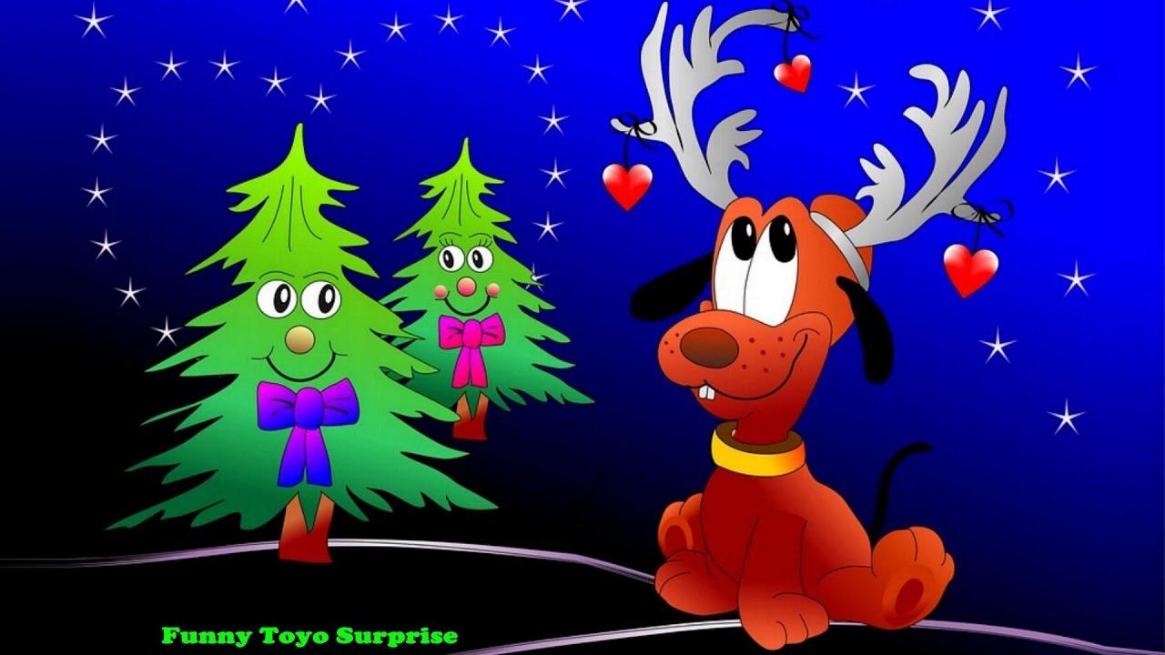 O Christmas Tree Carol Children Song Cartoon Animation ...