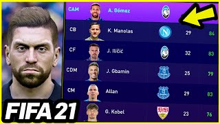 38 NEW FACES ARE COMING TO FIFA 21 - New FIFA 21 Squad Update