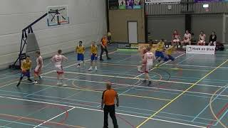 19 october 2019 Rivertrotters MSE2 vs Utrecht Bull's MSE2 57-63 2nd period