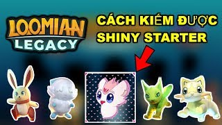 ROBLOX | Ways to earn SHINY STARTER * FREE * in LOOMIAN LEGACY NEW POKEMON GAME