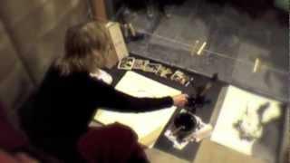 "Caroline Peyron in vetrina ""ISTEROGRAFIA Non c"