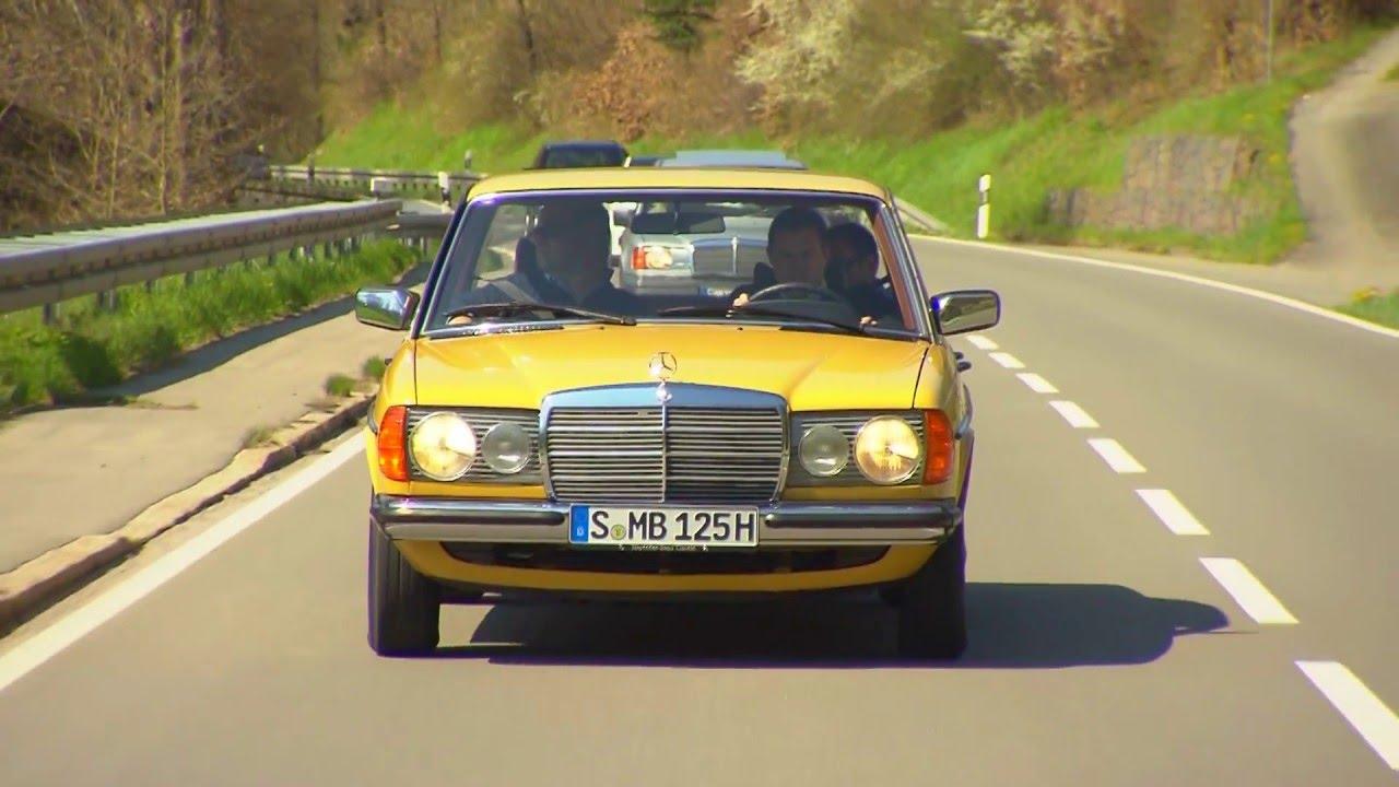 Mercedes Benz Classic E Class 230 W123 1979 Footage