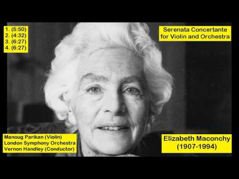 Elizabeth Maconchy (1907-1994) - Serenata Concertante for Violin and Orchestra
