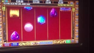 DaVinci Diamonds slot machine bonus free spins
