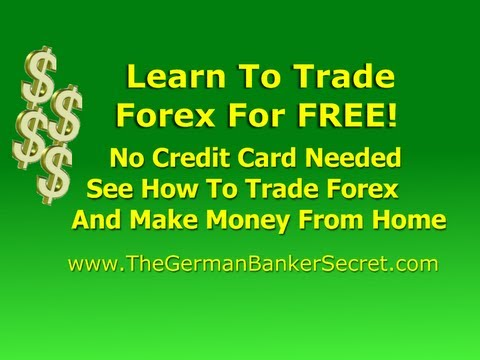 Learn how to forex trade