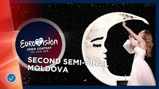 Anna Odobescu - Stay - Moldova - LIVE - Second Semi-Final - Eurovision 2019