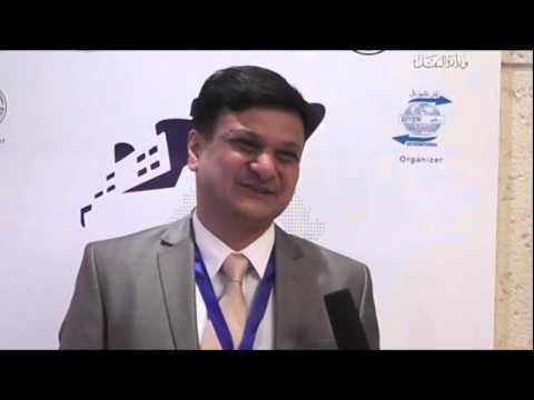 Capt. Parag Jain- Arab Maritime Congress – Amman 2015