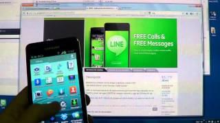 Line. Free Calls & Messages. Live demo screenshot 5