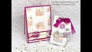 Wedding card and bag set... full tutorial