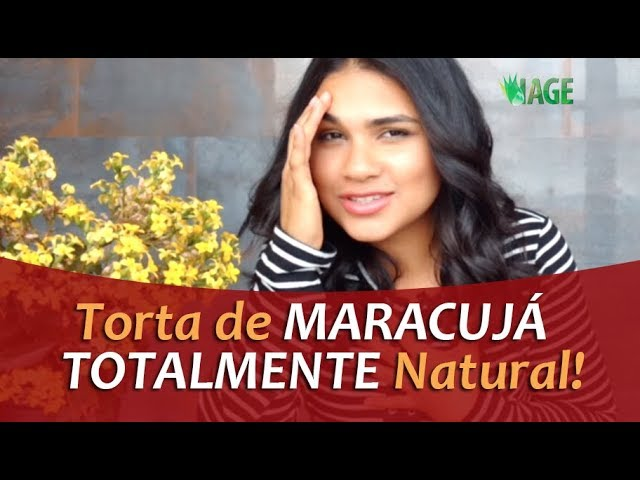 172 - TORTA DE MARACUJÁ - TOTALMENTE NATURAL!