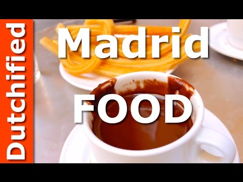 Spanish Food - Madrid Street Food