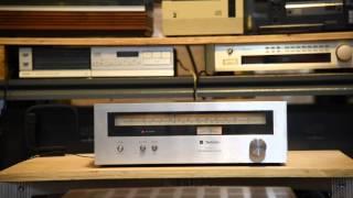Technics ST-7200 FM/AM Tuner FM Radio Testing