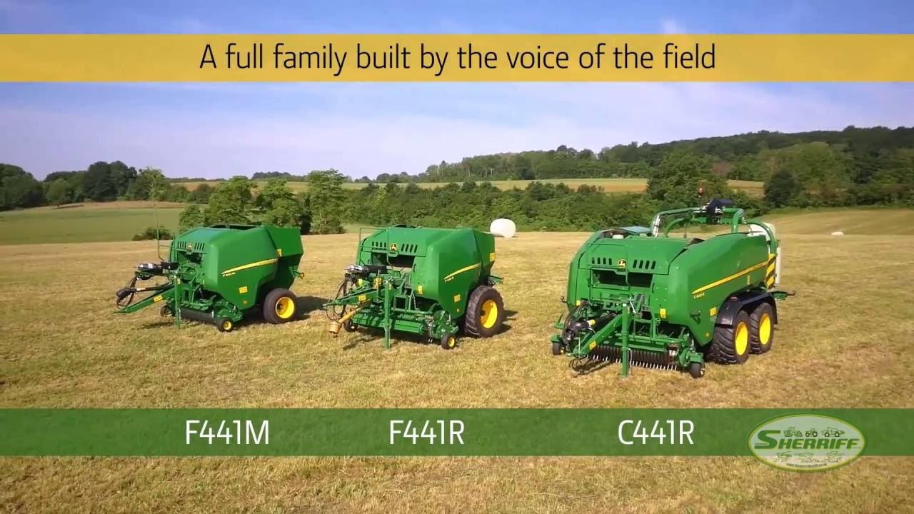 John Deere fixed Chamber balers for 2017