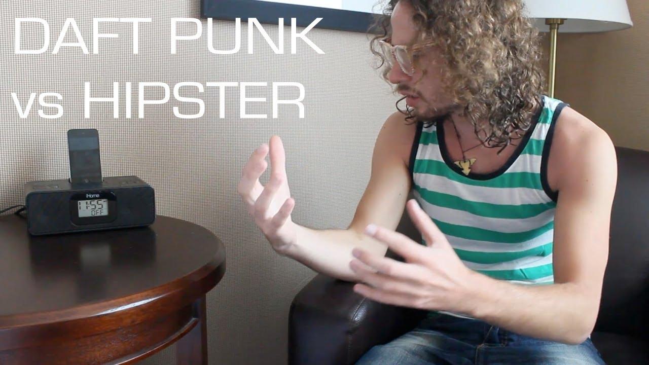 DAFT PUNK vs HIPSTER - YouTube