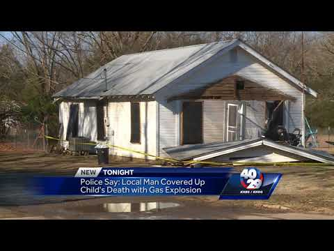 Local man covered up child's death with gas explosion