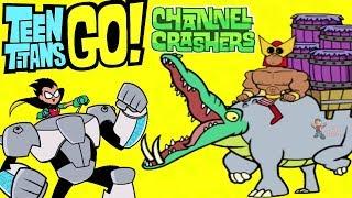 Teen Titans Go! Kanal Crashers B'Wana Hayvan Doğal Seçim (Cartoon Network Oyunlar)Hayatta