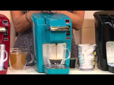 Keurig K10 Personal Coffee Maker with 36 K-Cup Packs with David Venable