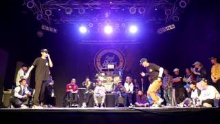 LAW Vs BUGGY Round Of 16 LOCKING Funk Stylers Battle 2016
