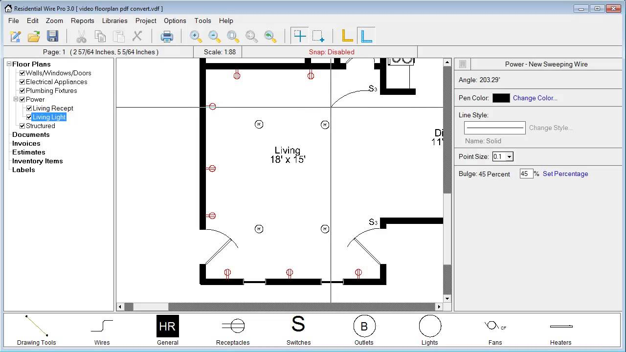 Residential Wire Pro - Creating and editing circuits - YouTube