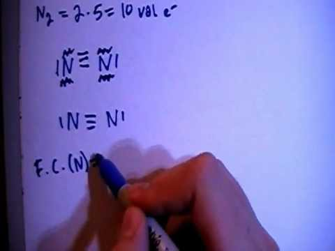 electron dot diagram for n2 wiring boat ignition switch dinitrogen lewis structure youtube